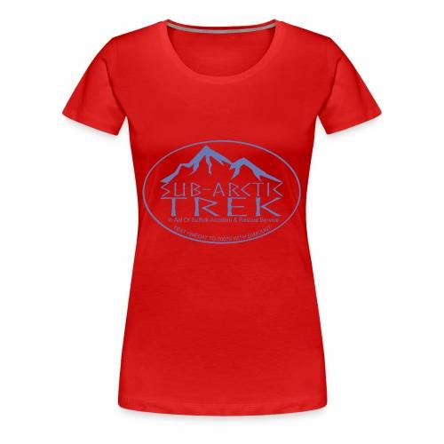 sub arctic trek in aid of sars - Women's Premium T-Shirt
