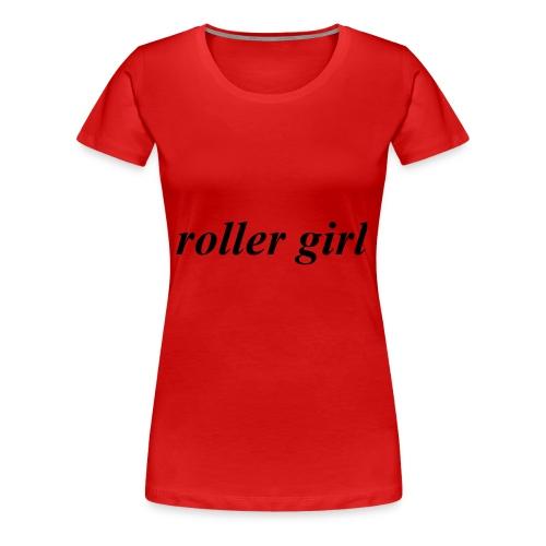 roller girl ♥ - Premium-T-shirt dam