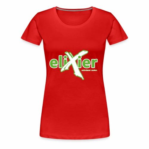 eliXier Logo - Frauen Premium T-Shirt