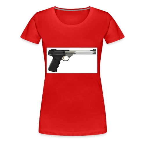 pistol - Dame premium T-shirt