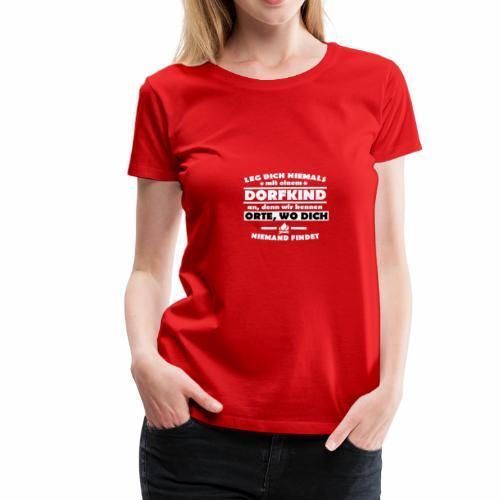 Dorfkinder - Frauen Premium T-Shirt