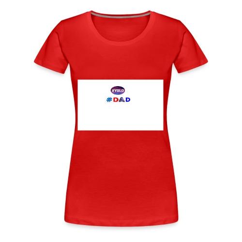 dad merch - Women's Premium T-Shirt