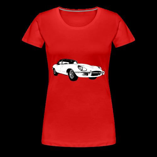 E type jag - Women's Premium T-Shirt