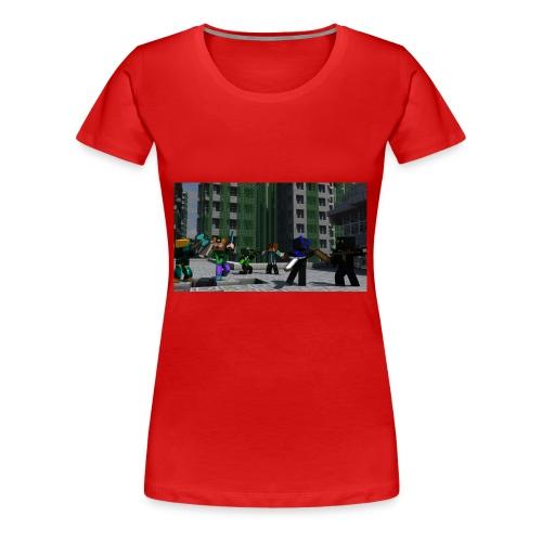 Minecraft Kopp - Premium T-skjorte for kvinner