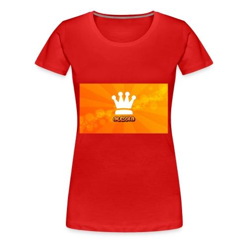 Orange_Crown_HD_Wallpaper_by_Ringquelle - Vrouwen Premium T-shirt