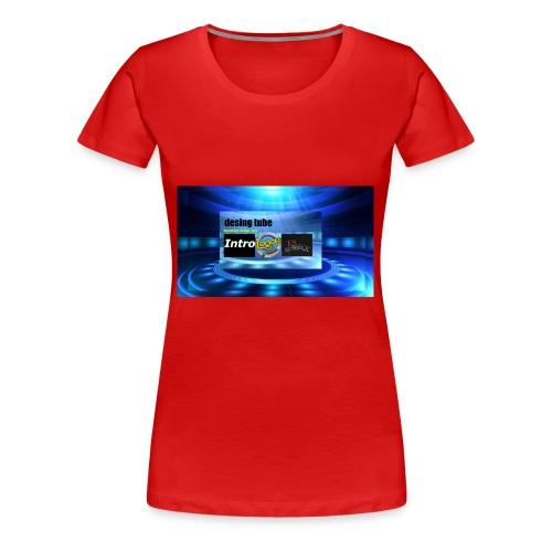full banner t-shirt - Vrouwen Premium T-shirt
