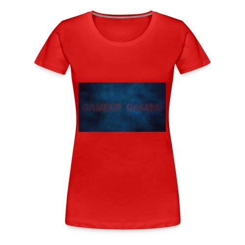 gamekip gaming sweater grijs - Vrouwen Premium T-shirt