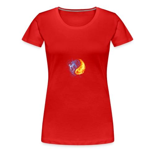 Abstract - Frauen Premium T-Shirt