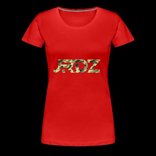 CAMO GREEN JRDZ - Women's Premium T-Shirt