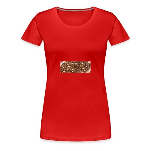 Schokoladen_Pizza - Frauen Premium T-Shirt