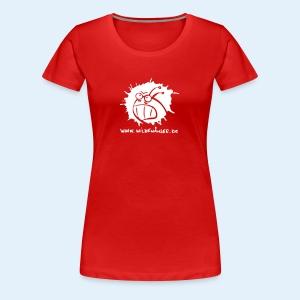 Wilde Wämser Logo - Frauen Premium T-Shirt