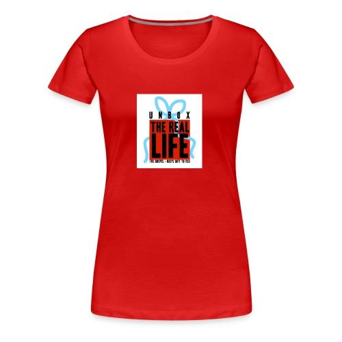 Echtes Leben - Frauen Premium T-Shirt