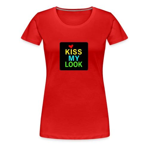 kissmylook - Camiseta premium mujer