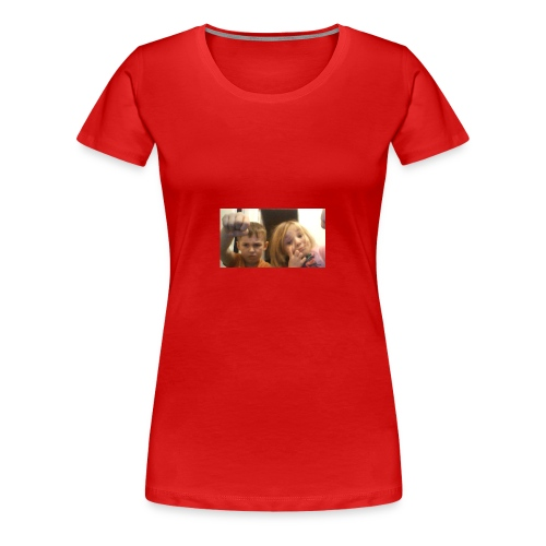 denby fist=nockout - Women's Premium T-Shirt