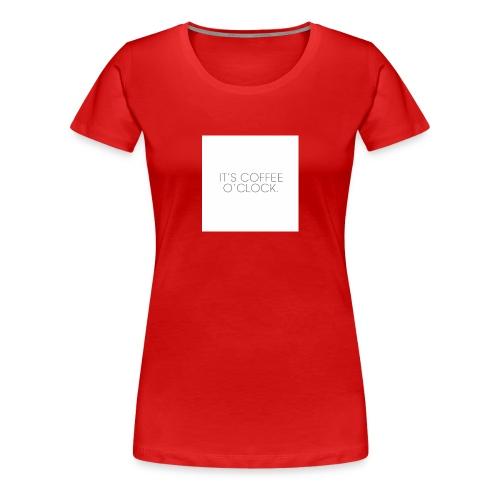 zwarte mok met tekst - Vrouwen Premium T-shirt