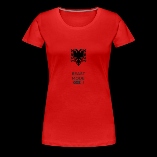 ALBANIA - Frauen Premium T-Shirt
