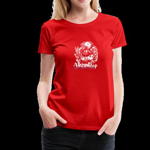 geweihbär Ahrenshoop 2018 - Frauen Premium T-Shirt