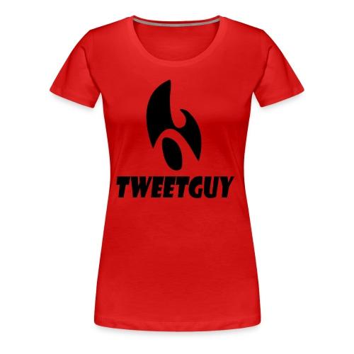TweetGuy Originele Merchandise Met TEKST - Vrouwen Premium T-shirt