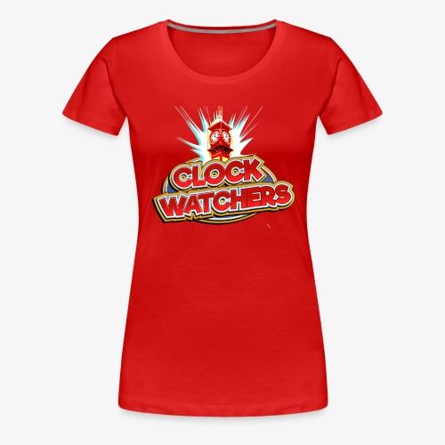 The Clockwatchers logo - Women's Premium T-Shirt