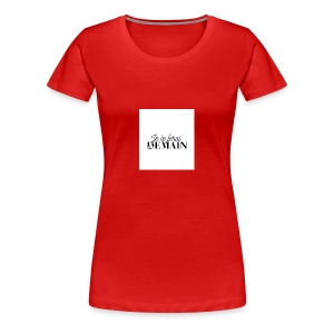 Je le ferai demain cadeau - T-shirt Premium Femme