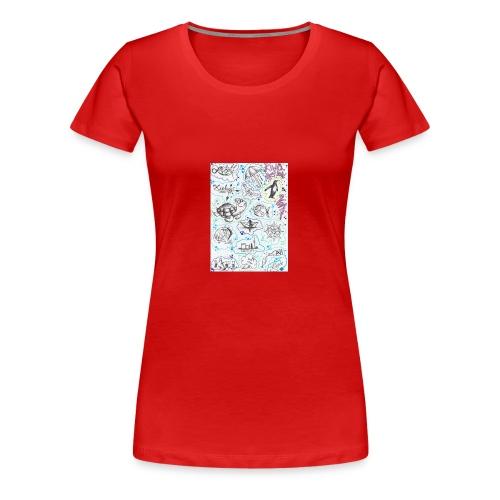 meer - Frauen Premium T-Shirt