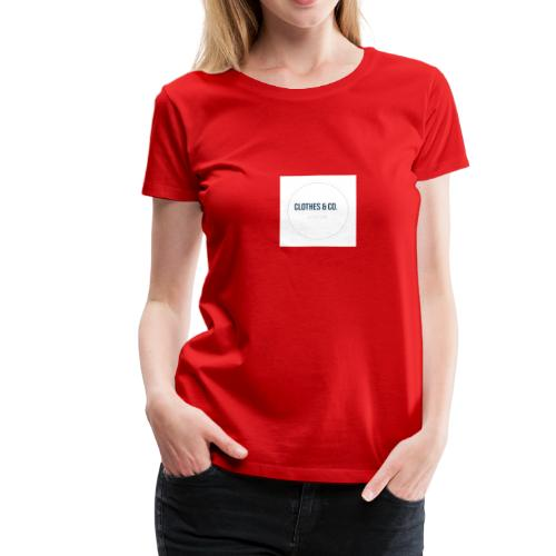 Clothes & Co. - T-shirt Premium Femme