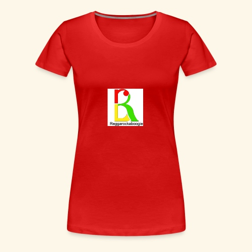 band logo coloured - Women's Premium T-Shirt