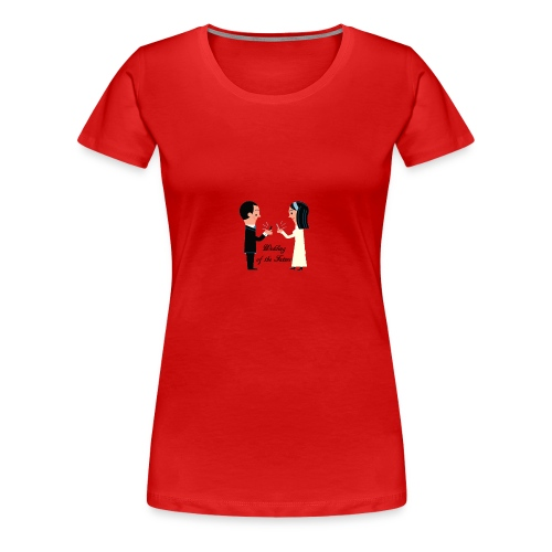Wedding of the Future - Frauen Premium T-Shirt