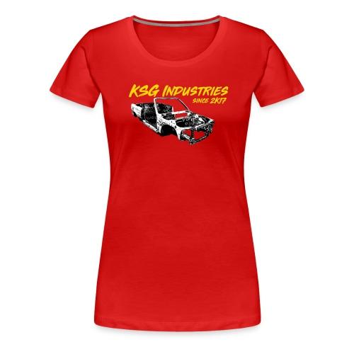 E 30 Karosserie - Frauen Premium T-Shirt