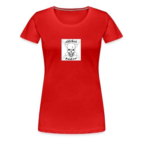 Oldschool baker - Frauen Premium T-Shirt