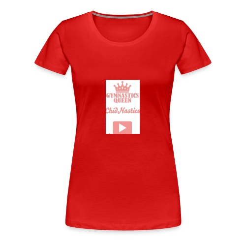 gymnastics queen 💎💎💎💎💎💎💎💎💎💎💎💎💎💎💎💎 - Women's Premium T-Shirt