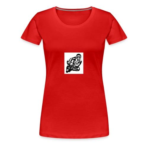 Pocket Bike Racer Small - Frauen Premium T-Shirt