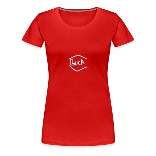 lucA-Weiß - Frauen Premium T-Shirt