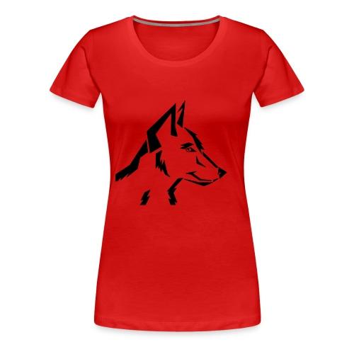 ArtDog WolfTribal - Frauen Premium T-Shirt