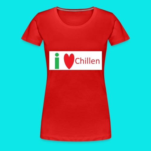 Ich Liebe Chillen - Frauen Premium T-Shirt