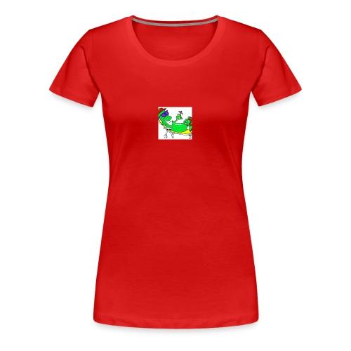 Gurke - Frauen Premium T-Shirt