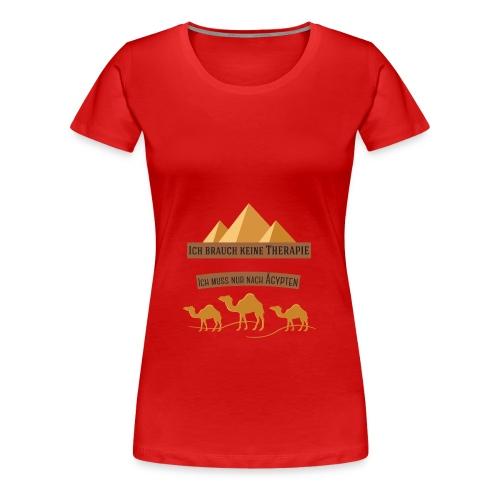 egypt Therapie - Frauen Premium T-Shirt