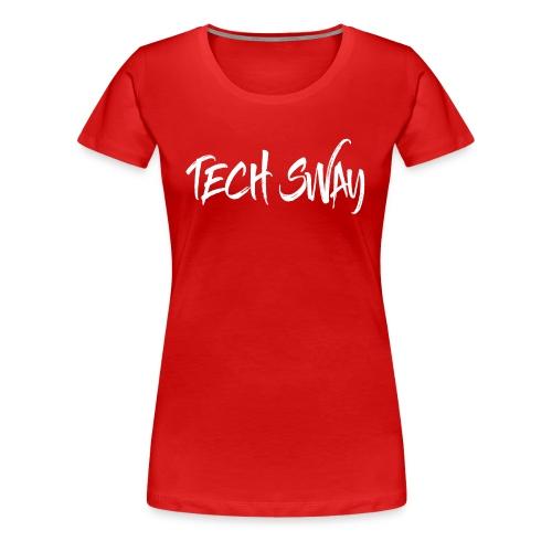 TechSwayWhiteLogo - Women's Premium T-Shirt