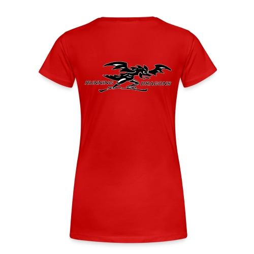 Running Dragons - Frauen Premium T-Shirt