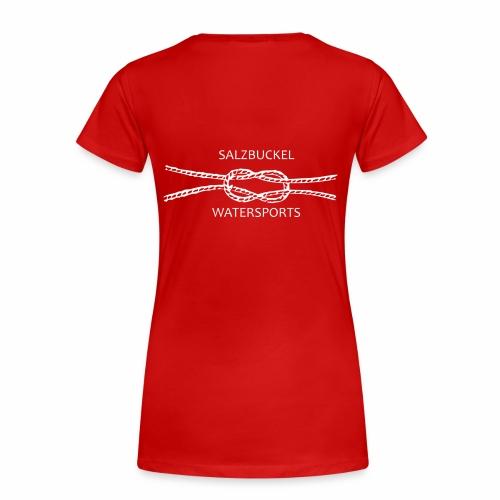 SalzBuckel - mit dem Meer verbunden - Frauen Premium T-Shirt