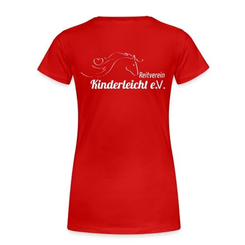 Reitverein Kinderleicht e.V. - Frauen Premium T-Shirt