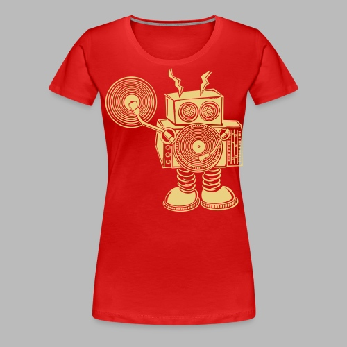Hey Mr DJ ✴CUSTOMISABLE DESIGN✴ - Women's Premium T-Shirt