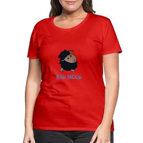 Badmood - Gaspard le petit mouton noir - T-shirt Premium Femme