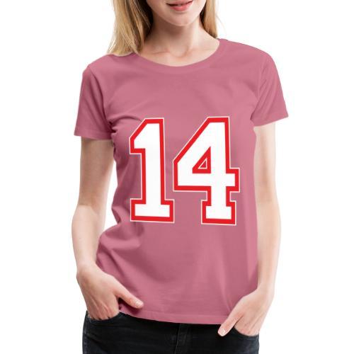 DANNIEB 14 - Maglietta Premium da donna