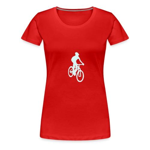Mountainbiker - Frauen Premium T-Shirt