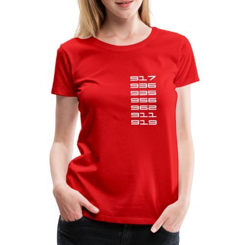 Stuttgart Le Mans 917 - 919 - Women's Premium T-Shirt