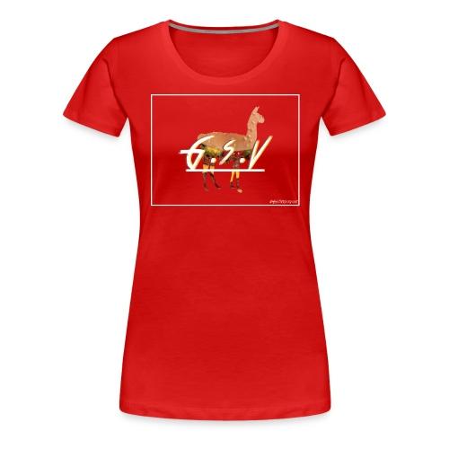 gsv cheese - T-shirt Premium Femme