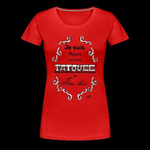 je suis - T-shirt Premium Femme