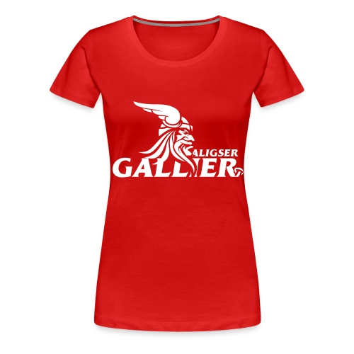 Transfer Gallier schwarz - Frauen Premium T-Shirt