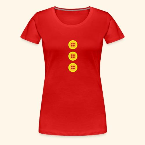 Botonera de Nene León - Camiseta premium mujer